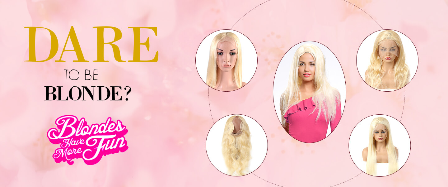 Best Seller Blonde 613 Hair